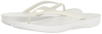 FitFlop Iqushion Ergonomic Flip-Flop (Gold) Women's Sandals