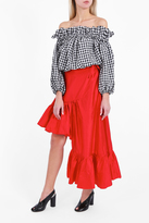 Marques Almeida Asymmetric Frilled Skirt