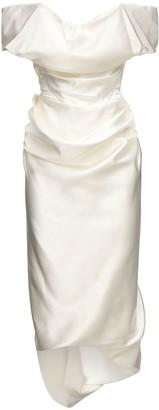 Silk Satin Cocotte Dress