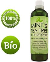 Honeydew Hydrating Conditioner Mint & Tea Tree Oil For Dry and Damaged Hair With Nutrient Rich Jojoba Tea Tree Lavender for Moisturized Shiny Strong & Rejuvenated Hair for Women Men Teens by 8 oz