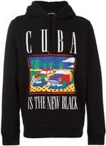 Diesel Cuba print hoodie