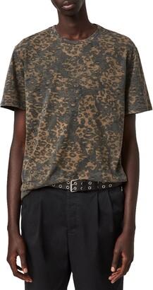 AllSaints Camouflage T-Shirt