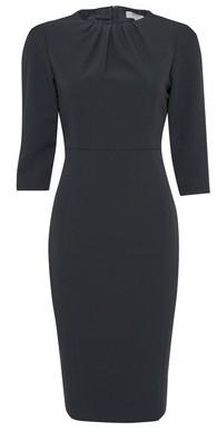 Dorothy Perkins Womens Dp Petite Black High Neck Tailored Pencil Dress, Black
