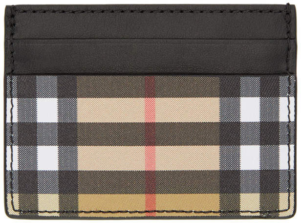 Burberry Black Sandon Card Holder
