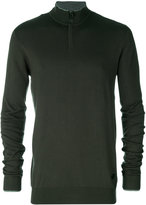 Armani Jeans zipped collar sweater