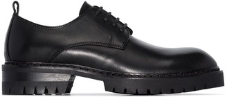 Ann Demeulemeester leather Oxford shoes