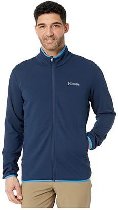 Columbia Town Parktm Midlayer Full Zip (Collegiate Navy/Azure Blue) Men's Clothing