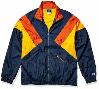 Champion Life Men's Nylon Warm Up Jacket