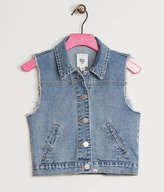Billabong Girls Denim Vest