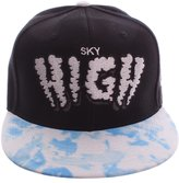 Sky High Cayler & Sons Snapback Baseball Hat with Printed Bill