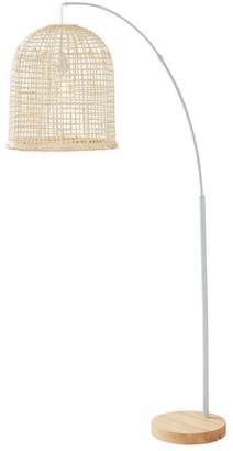 Albi Imports Weave Floor Lamp Natural