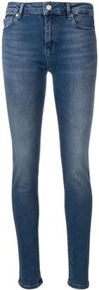 Love Moschino logo embellished skinny jeans