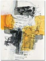 "Jane Davies 'Action I' 35"" x 47"" Canvas Wall Art"