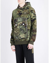Givenchy Camouflage-print Cotton-jersey Hoody