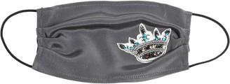 Nicole Miller Embellished Crown Mask