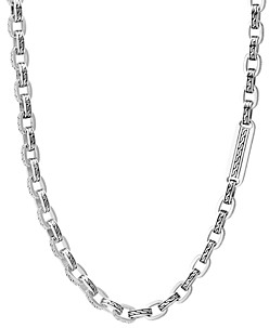 John Hardy Sterling Silver Classic Chain Link Necklace, 26