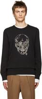 Alexander McQueen Black Chain Skull Pullover