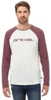 Animal Grey Logo Print T-shirt