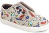 Toms Paseo Print Sneaker (Baby, Walker & Toddler)