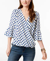 INC International Concepts I.n.c. Petite Surplice Top, Created for Macy's