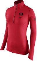 Nike Women's Georgia Bulldogs Tailgate Element Half-Zip Shirt