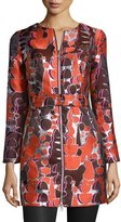Opening Ceremony Topiary Jacquard Zip-Front Jacket