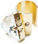 Maria Francesca Pepe Women's Large Bullet Earcuff Gold