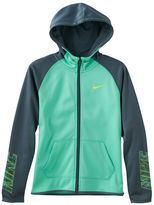 Nike Girls 7-16 Therma Dri-FIT Logo Graphic Hoodie