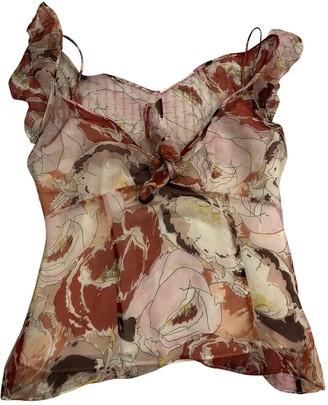 Nicole Farhi Multicolour Silk Top for Women