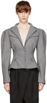 Jacquemus Grey 'La Petite Veste' Jacket