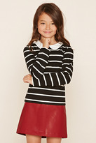 FOREVER 21 girls Girls Club Collar Shirt (Kids)