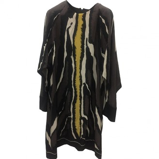 Fendi Multicolour Silk Dresses