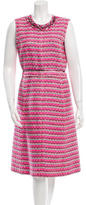 Marc Jacobs Embellished Tweed Dress