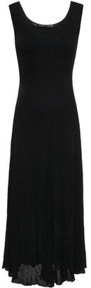 Proenza Schouler Cutout Ribbed Jersey Midi Dress