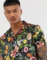 SikSilk shirt in floral print