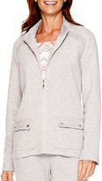 Alfred Dunner Cape Hatteras Long-Sleeve Zip-Front Jacket