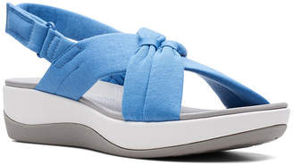 Clarks Women Cloudsteppers Arla Belle Flat Sandals Women Shoes