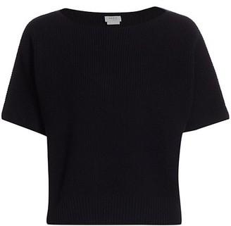 Akris Punto Kimono-Sleeve Wool & Cashmere Knit T-Shirt