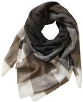 Betty Barclay Large Blanket Scarf, Grey/Nature