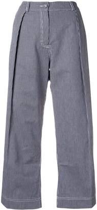 Peter Jensen regatta stripe pleated trousers