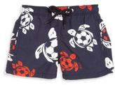 Vilebrequin Baby's, Toddler's, Little Boy's & Boy's Soccer Turtles Swim Trunks