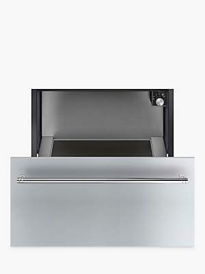 Smeg CR329X Integrated Warming Drawer, Stainless Steel