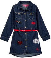 Betsey Johnson Denim Dress (Little Girls)