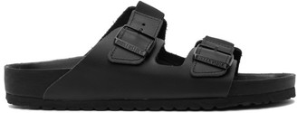 Random Identities Black Birkenstock Edition Leather Arizona Sandals