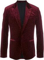 Roberto Cavalli animal pattern blazer - men - Cotton/Spandex/Elastane/Cupro/Viscose - 50