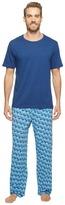 Tommy Bahama Short Sleeve Jersey Two-Piece Pajama Men's Pajama Sets