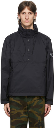 Noah NYC Black Regatta Windbreaker