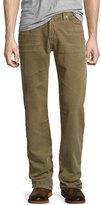 AG Jeans Graduate Sulfur Infantry Corduroy Pants, Khaki