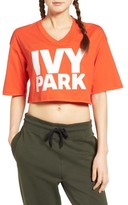 Ivy Park Women's Logo Crop Tee
