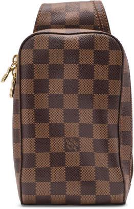 Louis Vuitton Geronimos Damier Ebene Brown